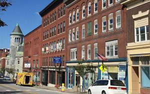 Odd Fellows Hall in Augusta, Maine