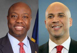 Senators Tim Scott (R-SC) and Cory Booker (D-NJ)