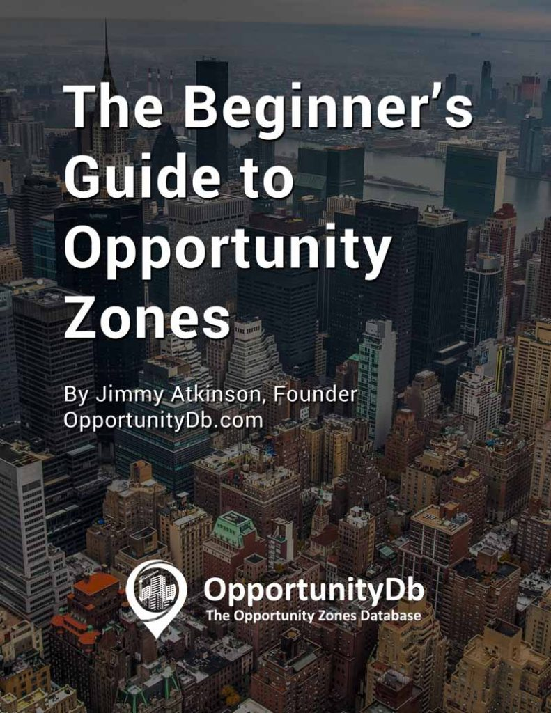 The Beginner's Guide to Opportunity Zones