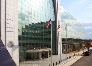 SEC Headquarters Building in Washington DC