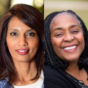 Anu Varadharajan and Michelle Thompson