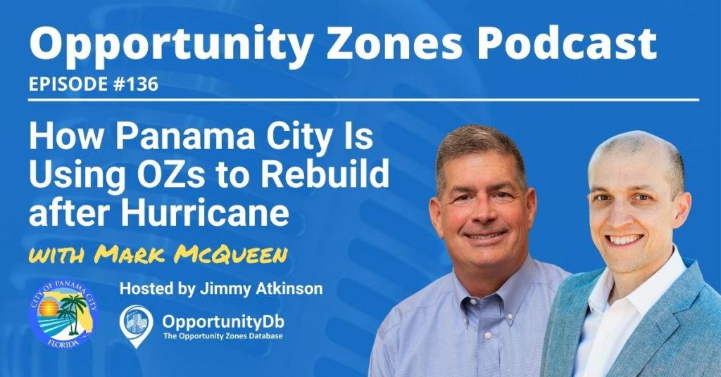 Mark McQueen on the Opportunity Zones Podcast