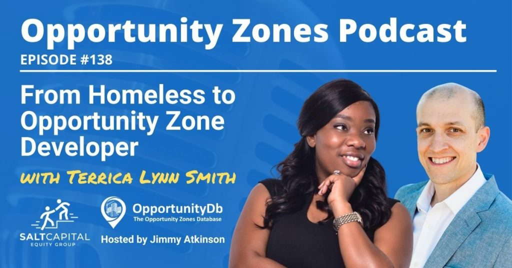 Terrica Lynn Smith on the Opportunity Zones Podcast