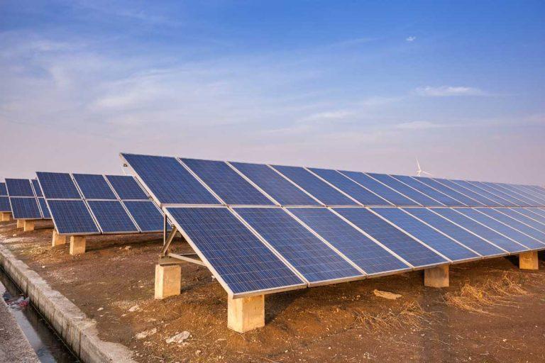 Opportunity Zone solar panels