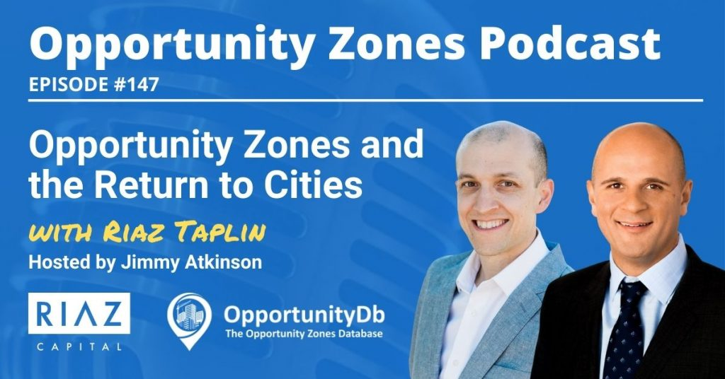 Riaz Taplin on the Opportunity Zones Podcast