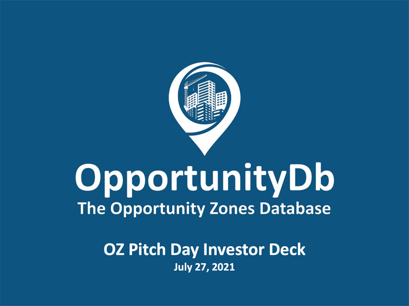 Download the OZ Pitch Day Summer 2021 Investor Deck